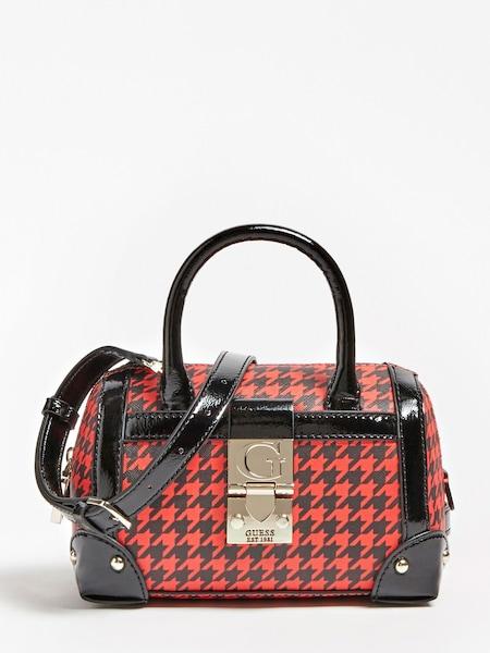 Handtaschen - Henkeltasche 'Lucienne' › Guess › rot schwarz  - Onlineshop ABOUT YOU