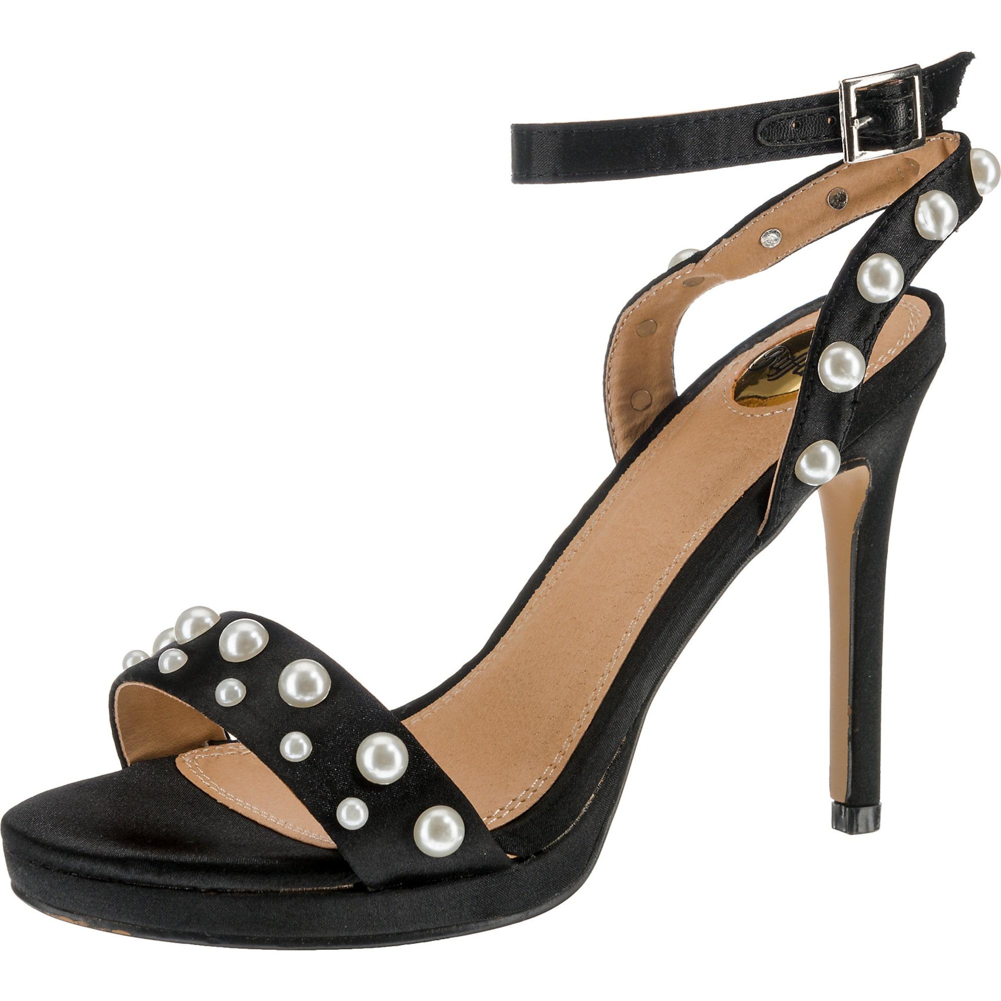 Páskové sandály hnědá černá BUFFALO