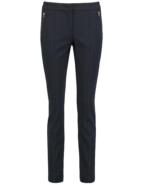 Hosen für Frauen - Hose › TAIFUN › nachtblau  - Onlineshop ABOUT YOU