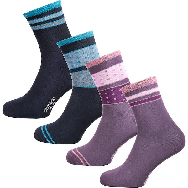 Socken für Frauen - Socken › Camano › blau hellblau helllila mischfarben hellpink  - Onlineshop ABOUT YOU
