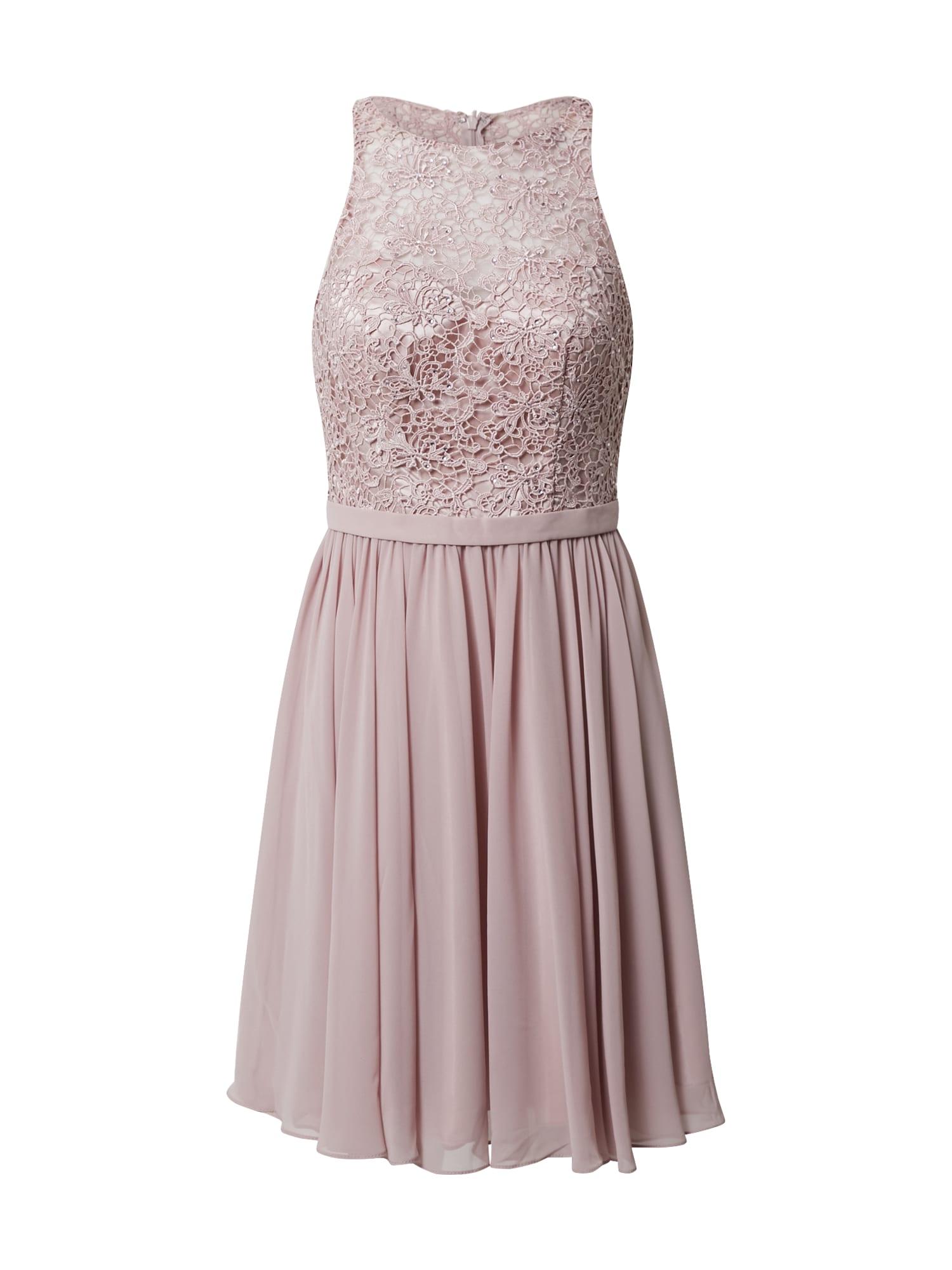 mascara Kokteilinė suknelė rožinė