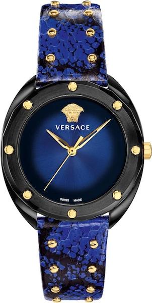 Uhren für Frauen - VERSACE Uhr 'Shadov' dunkelblau schwarz  - Onlineshop ABOUT YOU