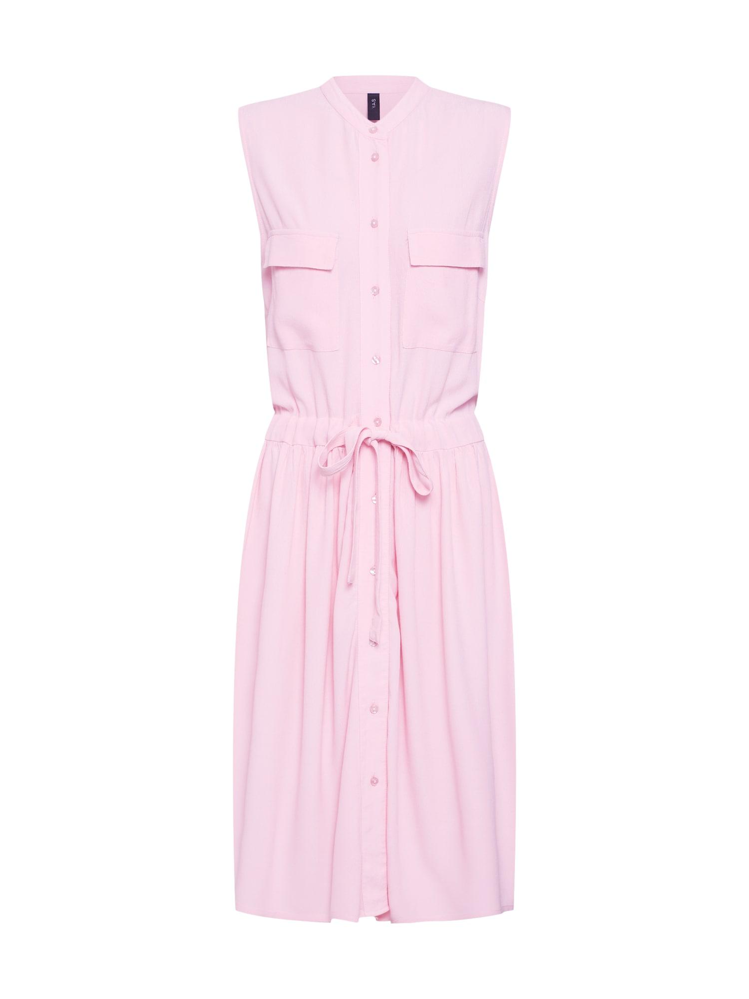 Košilové šaty růžová Y.A.S