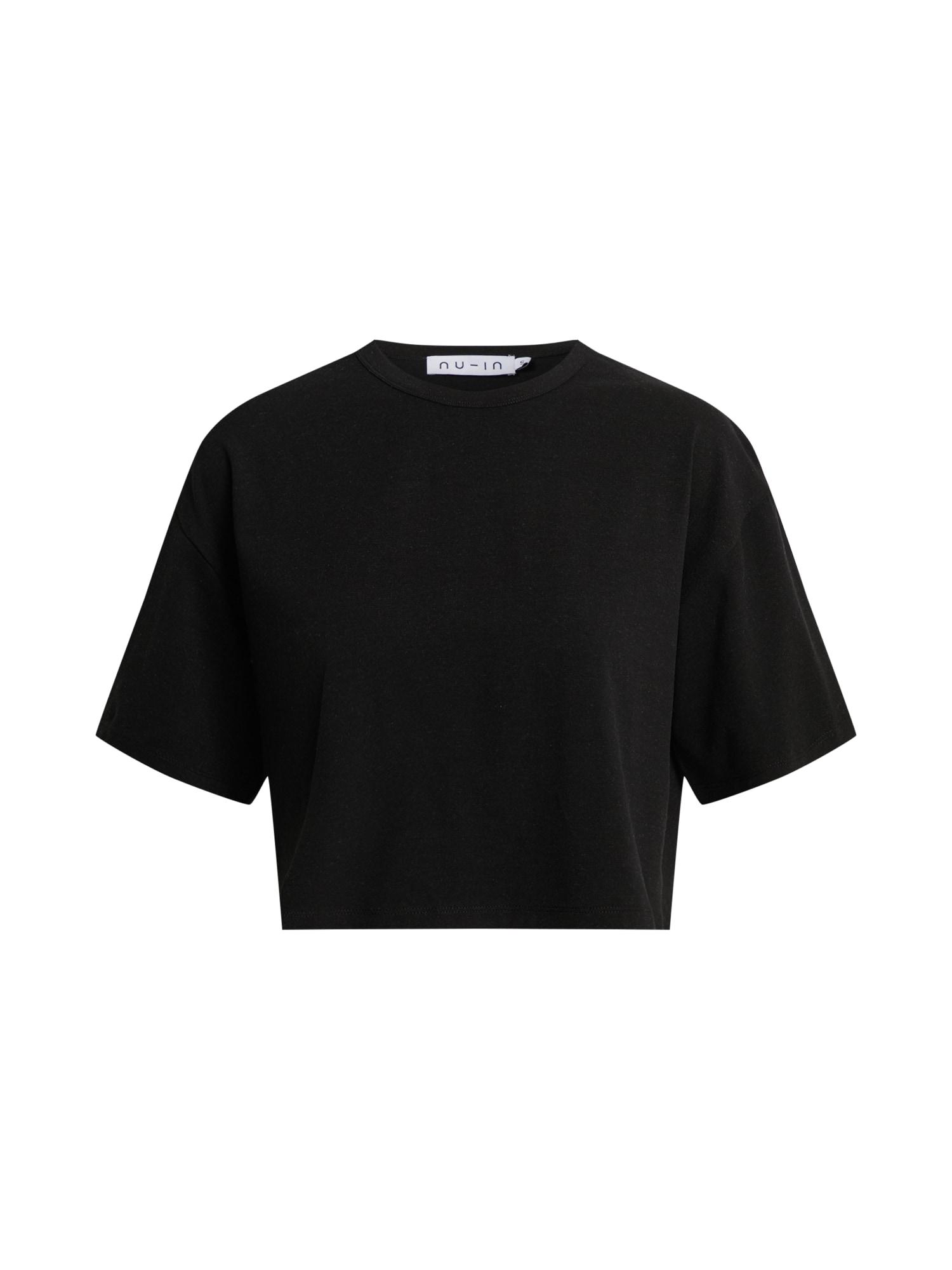 NU-IN Marškinėliai juoda