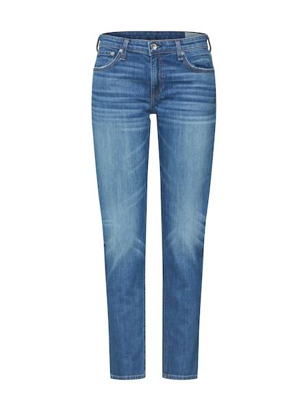 Hosen für Frauen - Jeans 'Dre Low Rise Slim Boyfriend' › Rag Bone › blue denim  - Onlineshop ABOUT YOU