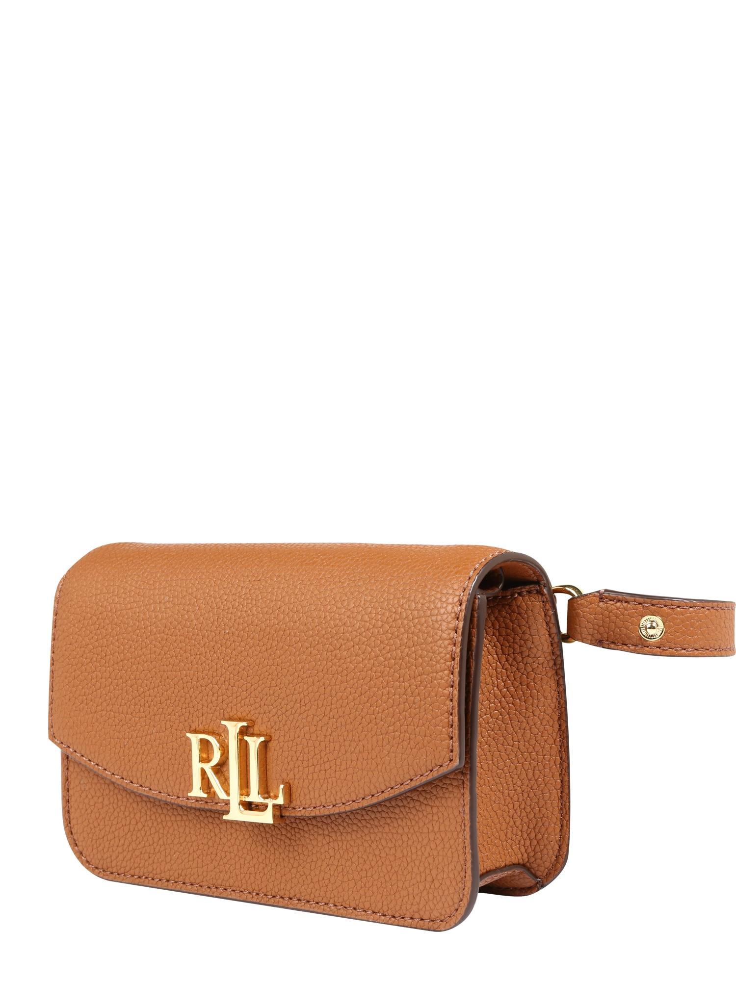 Taška přes rameno MADISON 18-CROSSBODY-SMALL koňaková Lauren Ralph Lauren