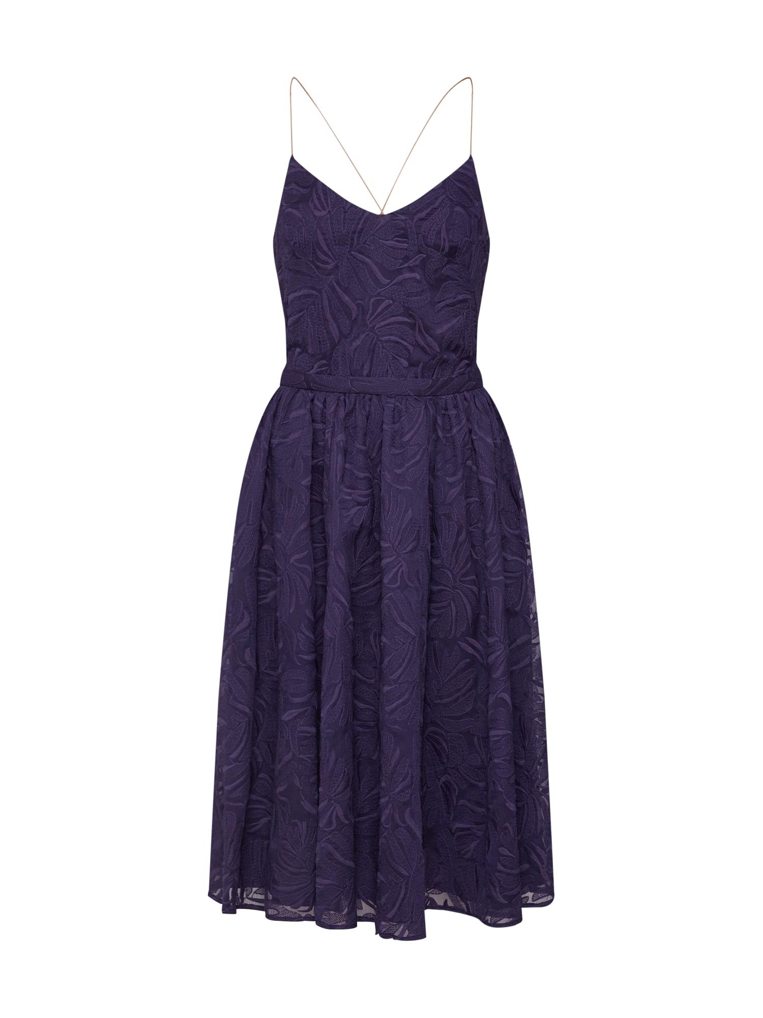 Šaty fialkově modrá Sessun