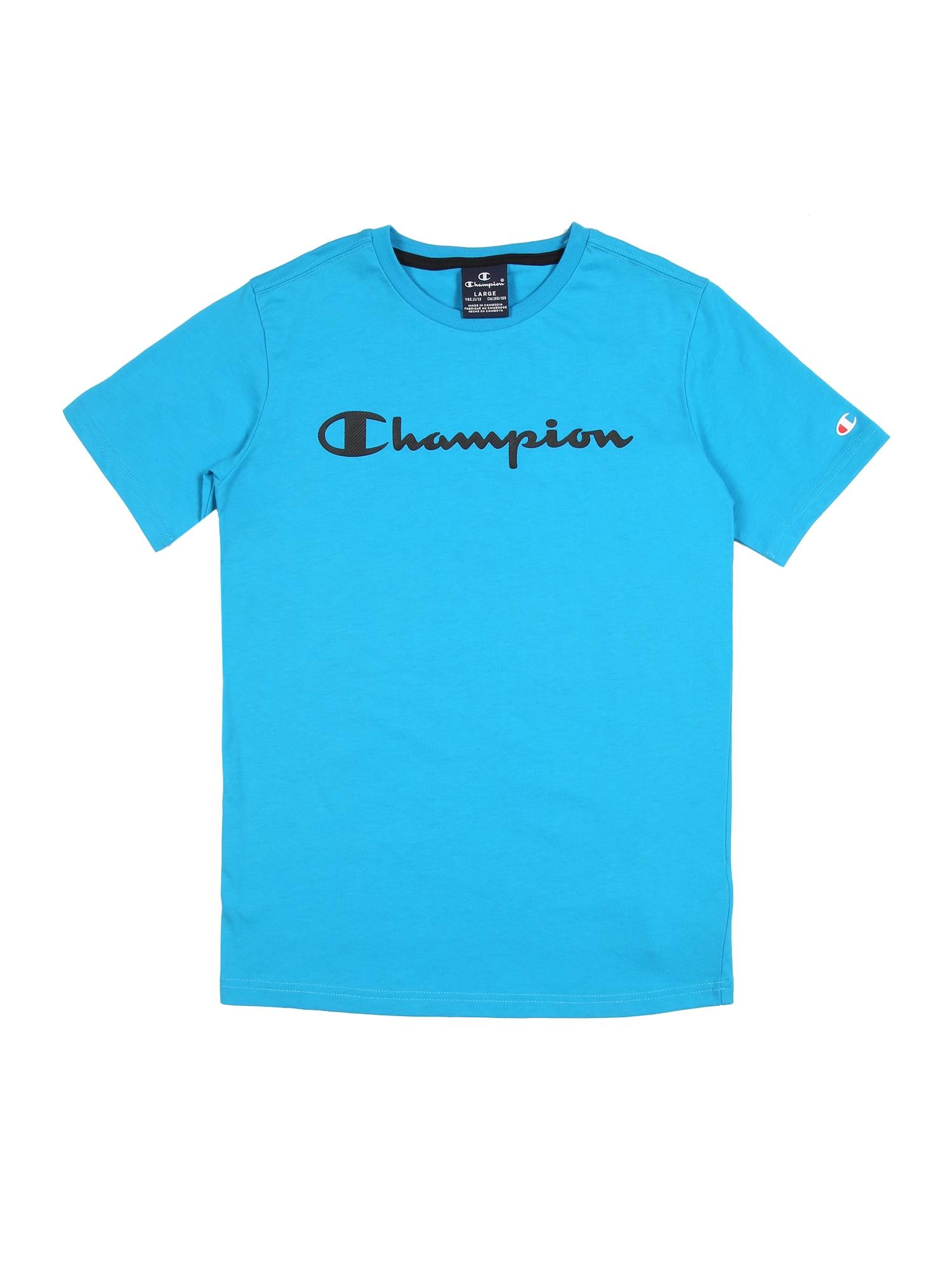 Champion Authentic Athletic Apparel Marškinėliai šviesiai mėlyna