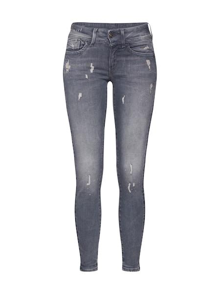 Hosen für Frauen - Jeans 'Lynn' › G Star Raw › grey denim  - Onlineshop ABOUT YOU