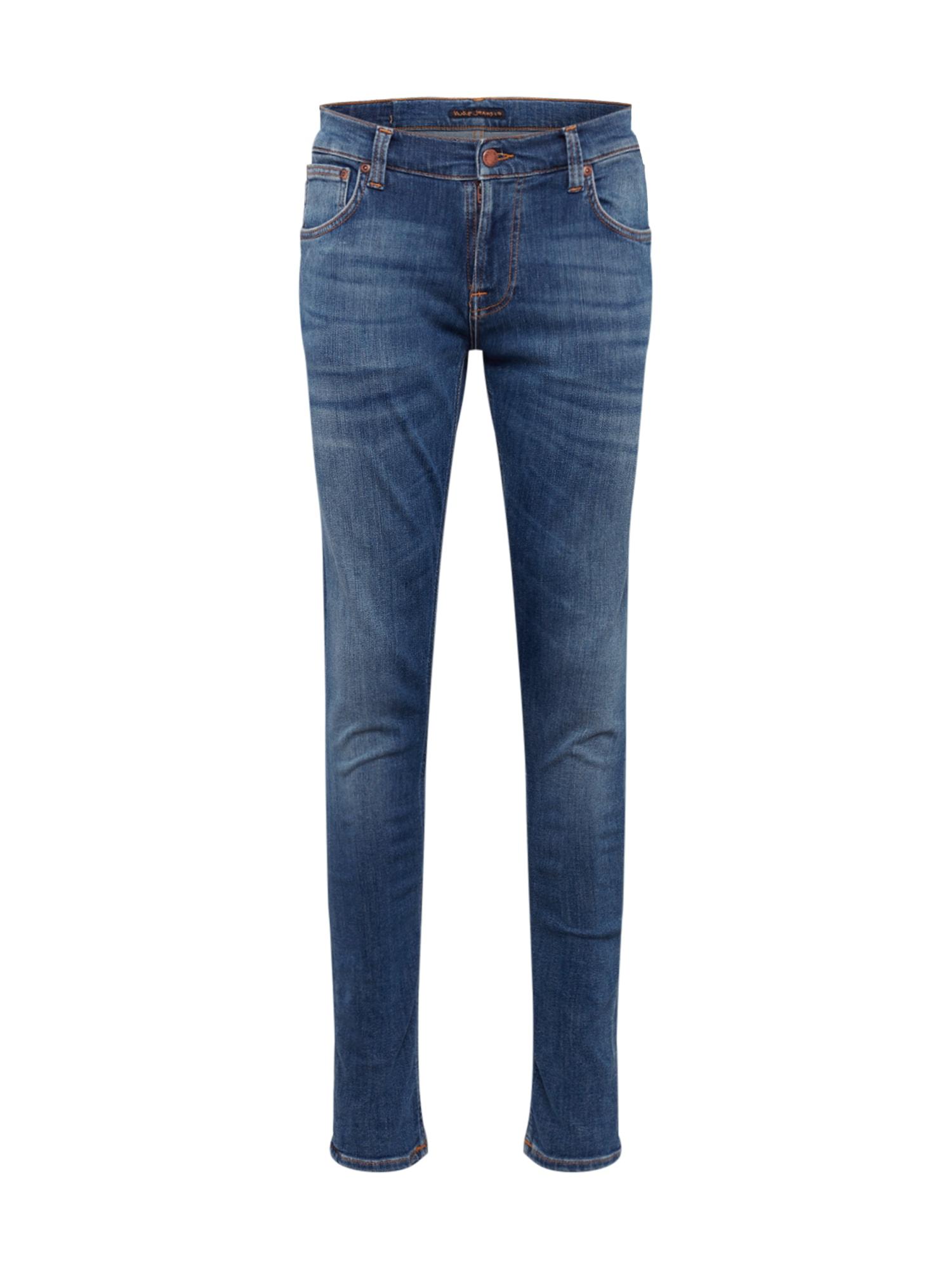 Nudie Jeans Co Džinsai tamsiai (džinso) mėlyna
