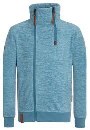 Naketano Herren Zipped Jacket Schnitzelpopizel III blau   04049502597492