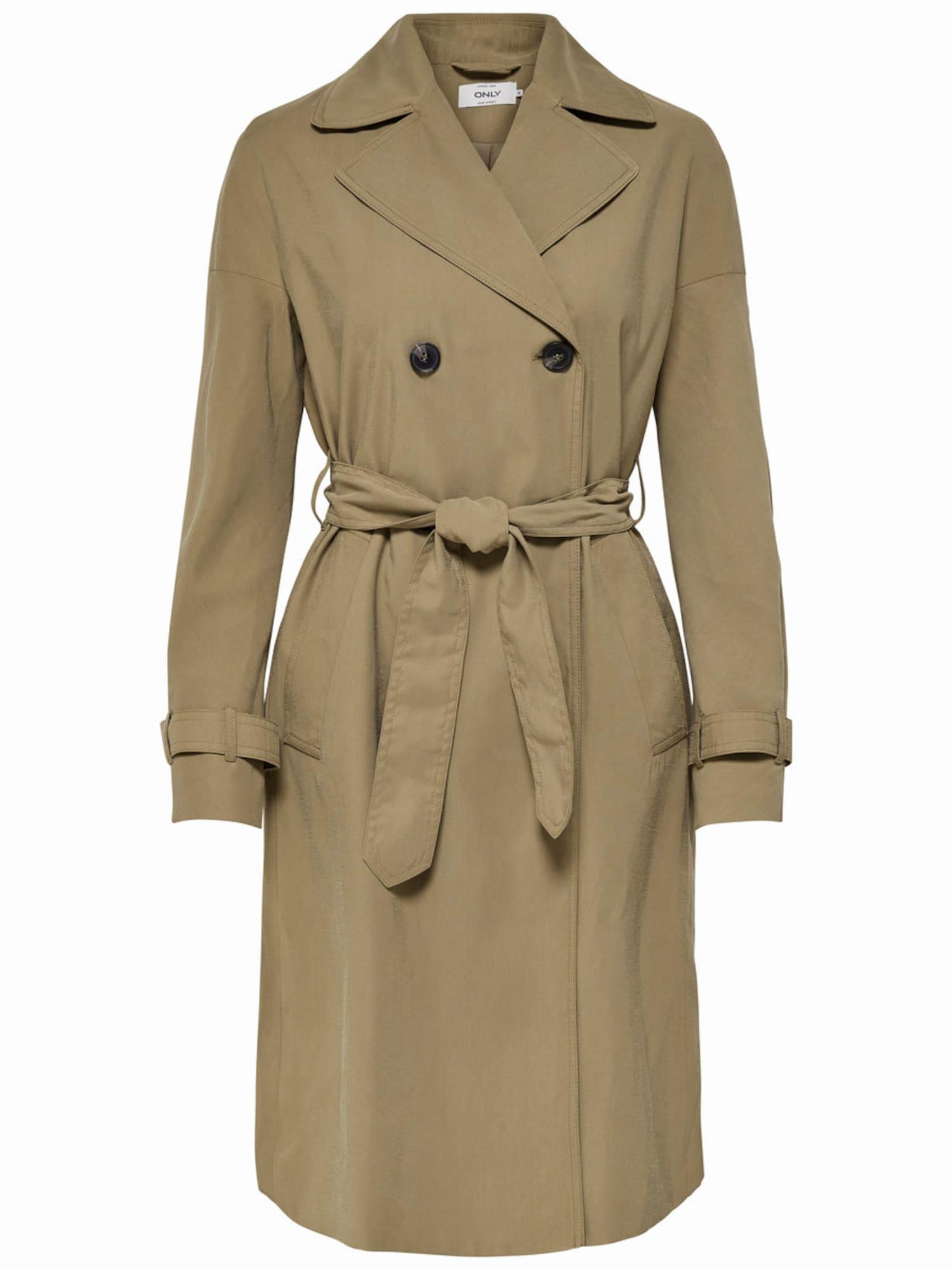 ONLY Rudeninis-žieminis paltas nebalintos drobės spalva