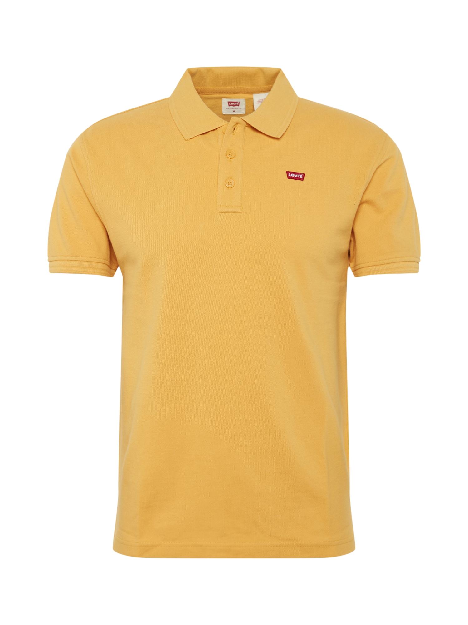 LEVI'S Marškinėliai 'HOUSEMARK ' geltona