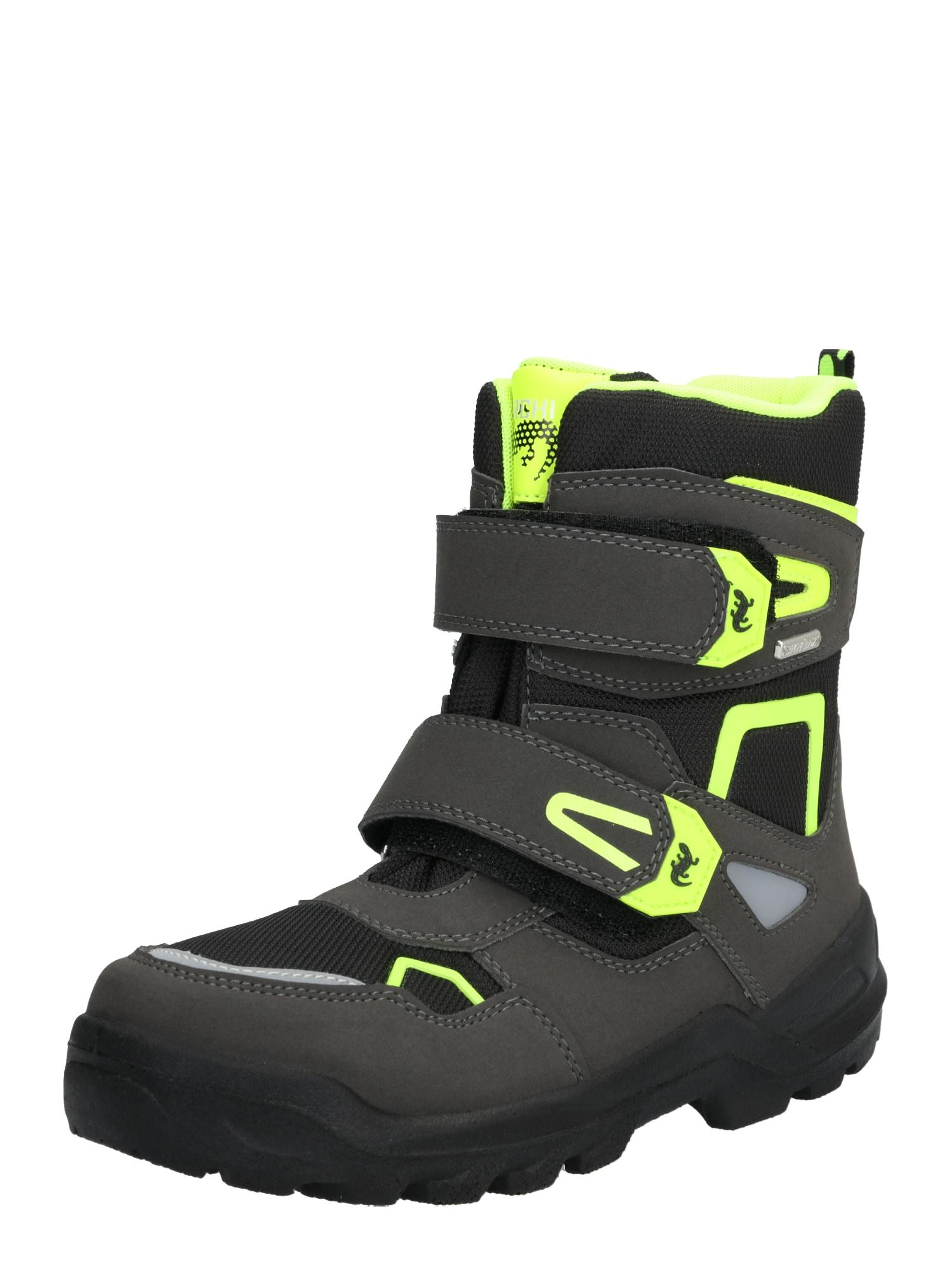 LURCHI Sniego batai 'KASPAR-SYMPATEX' neoninė geltona / juoda