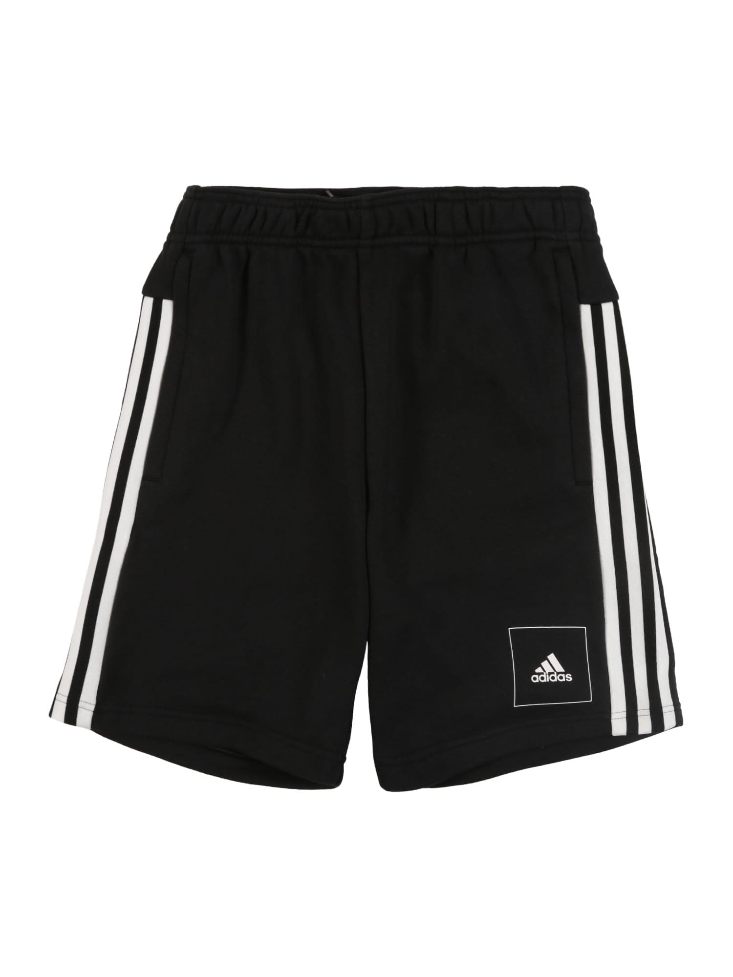 ADIDAS PERFORMANCE Sportinės kelnės 'JB A AAC SHORT' balta / juoda