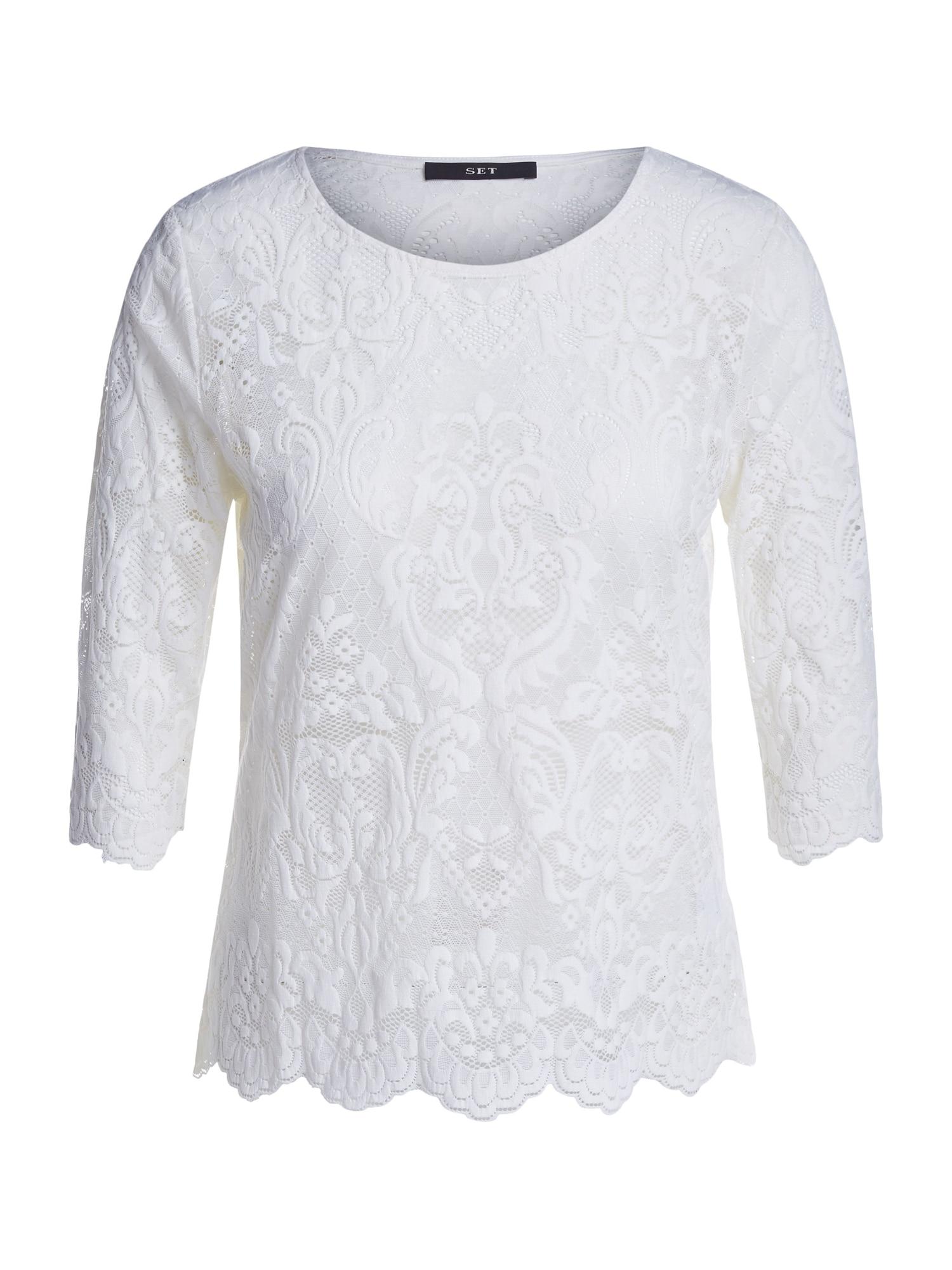 SET Tričko  bílá