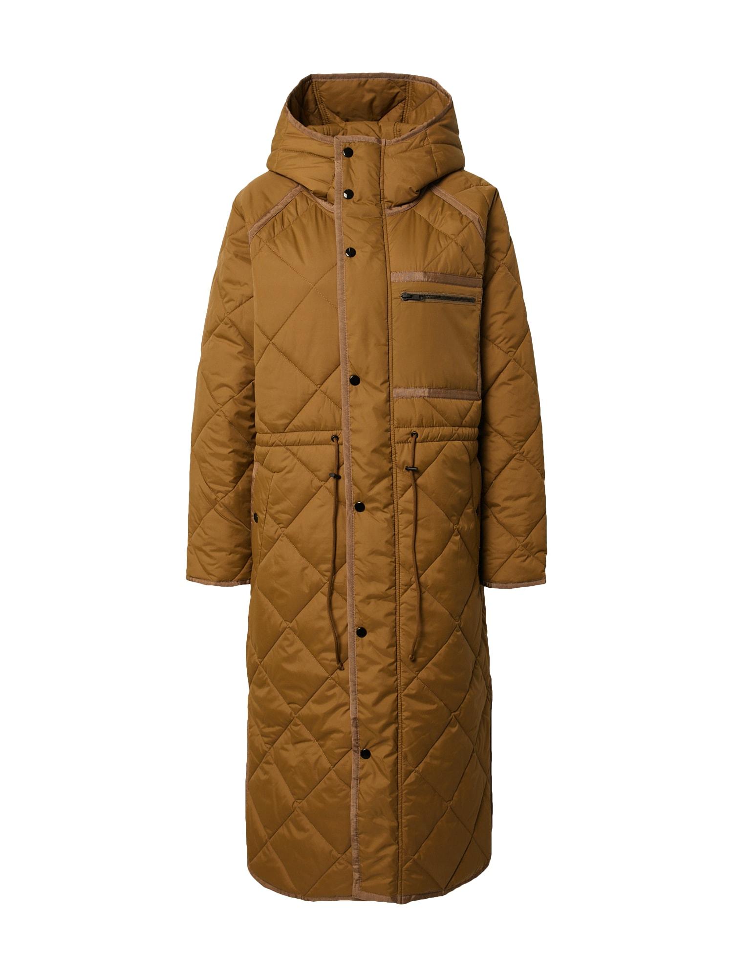 SECOND FEMALE Zimní kabát 'Prudence'  světle hnědá