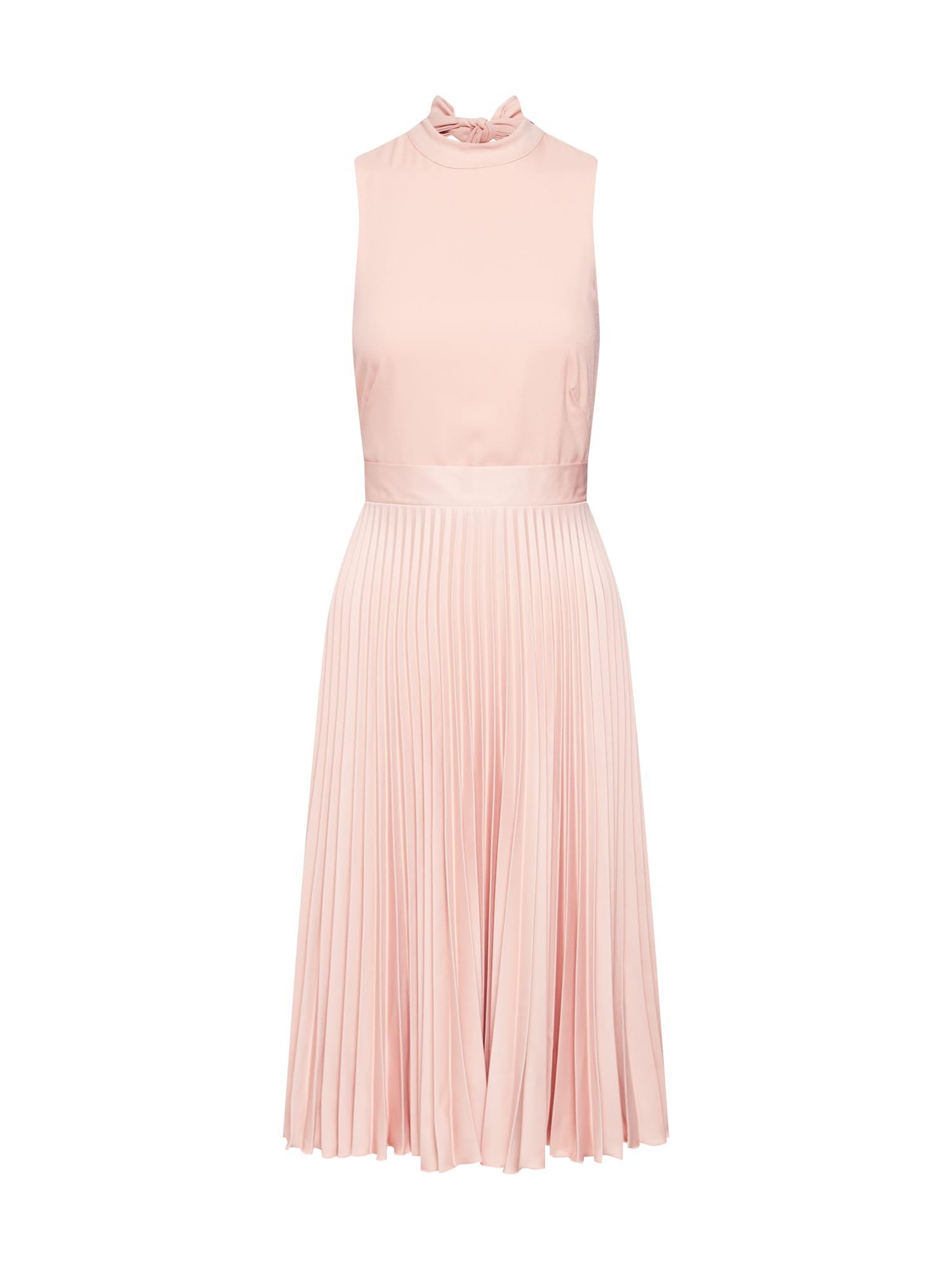 Koktejlové šaty růžová Closet London
