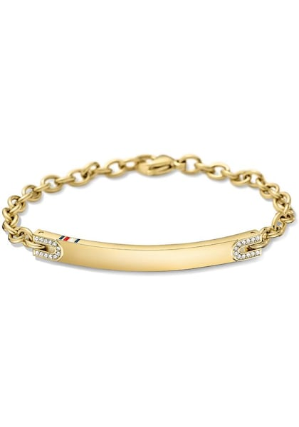 Armbaender für Frauen - TOMMY HILFIGER Armkette 'Classic Signature' gold  - Onlineshop ABOUT YOU