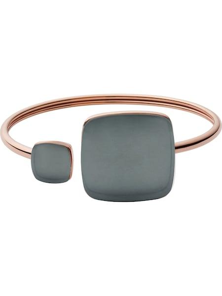 Armbaender für Frauen - SKAGEN Armspange 'Sea Glass' rosegold basaltgrau  - Onlineshop ABOUT YOU