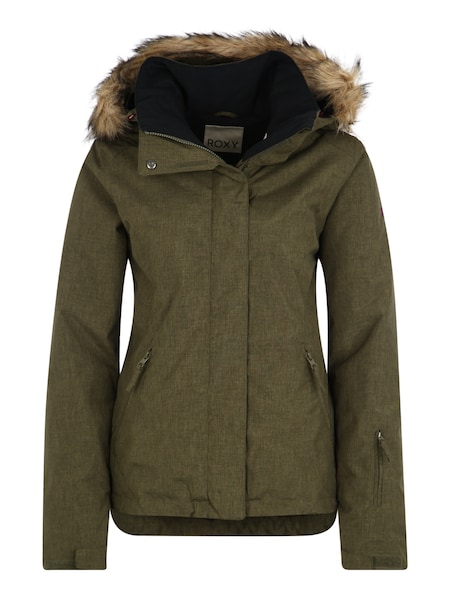 Jacken - Sport Jacke 'JET SKI SOLID' › Roxy › khaki  - Onlineshop ABOUT YOU