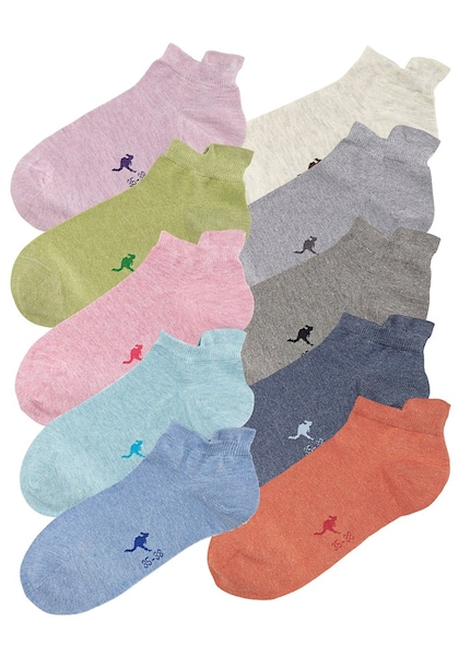 Socken für Frauen - KangaROOS Sneakersocken (10 Paar) mischfarben  - Onlineshop ABOUT YOU