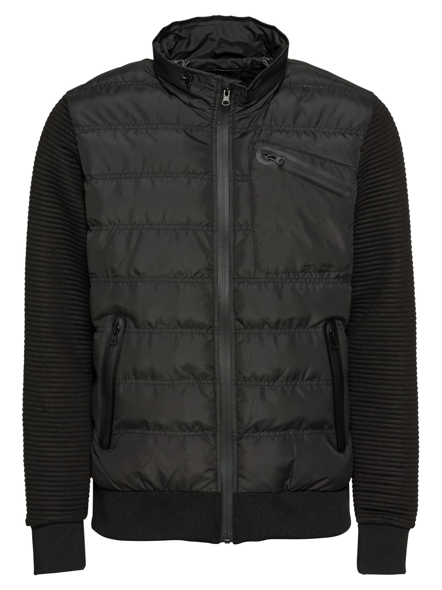 Přechodná bunda Outerwear černá BLEND