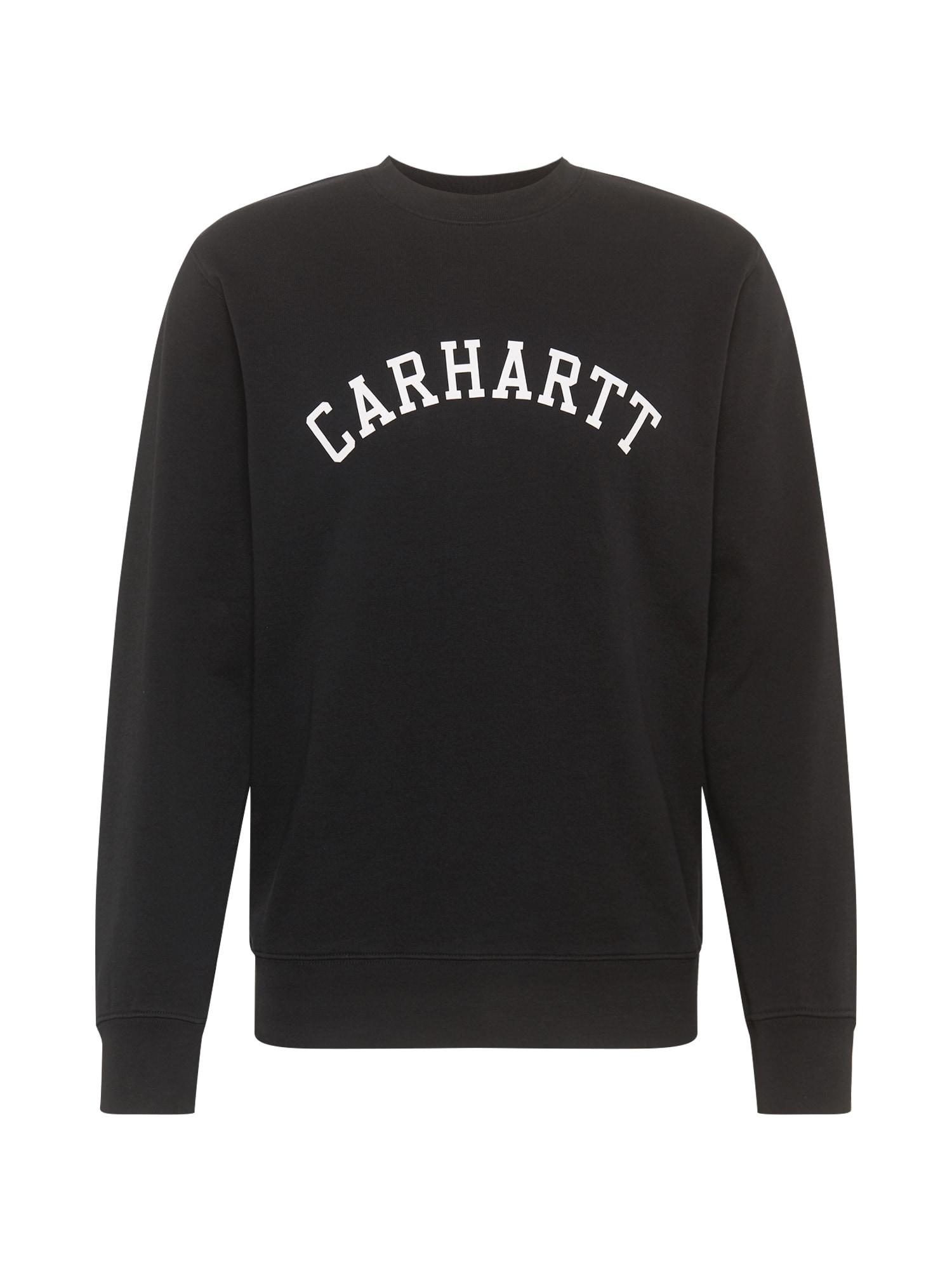 Carhartt WIP Megztinis be užsegimo balta / juoda