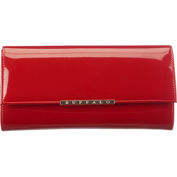 Clutches für Frauen - BUFFALO Clutch in Lackleder Optik rot  - Onlineshop ABOUT YOU