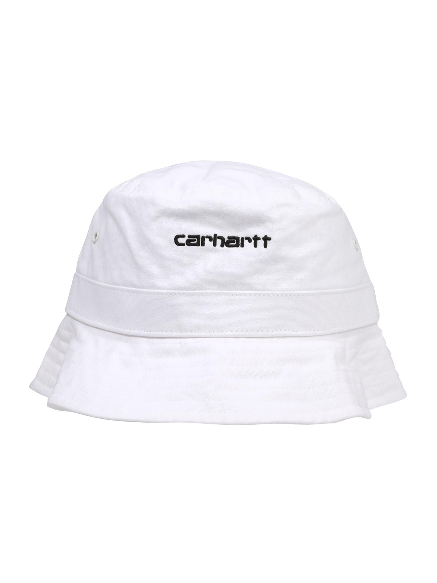 Čepice Script Bucket Hat bílá Carhartt WIP