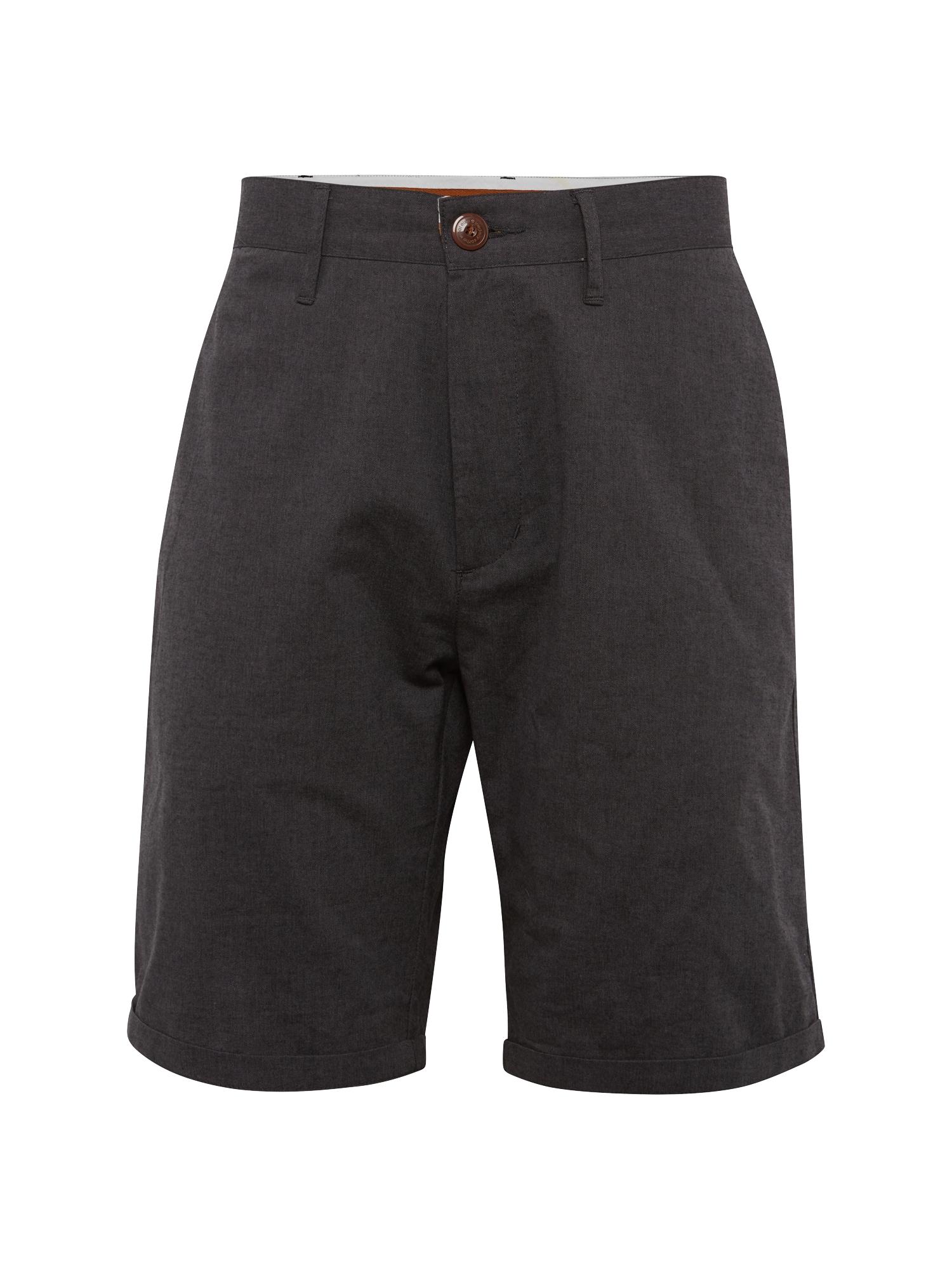 Chino kalhoty Golfer Chambray antracitová Iriedaily