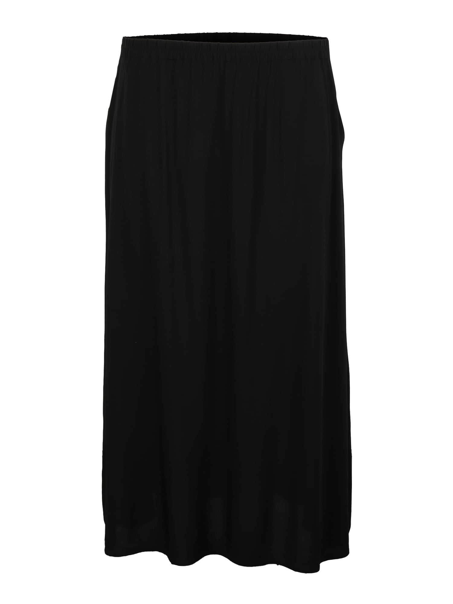 Vero Moda Curve Sijonas 'VMSIMPLY EASY MAXI SKIRT WVN GA CURVE' juoda