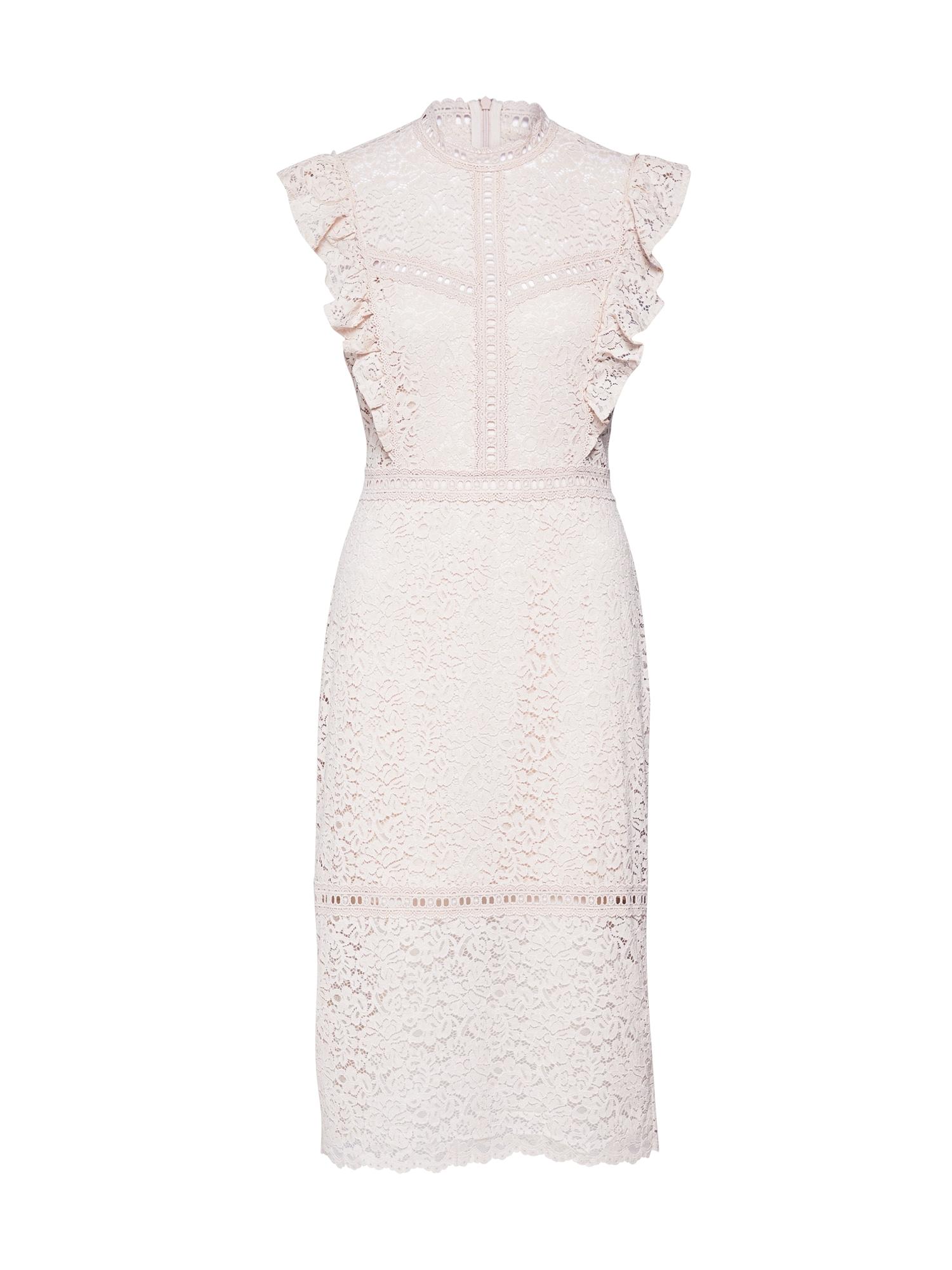 rosemunde Kokteilinė suknelė rožių spalva / smėlio