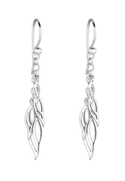 Ohrringe für Frauen - Ohrringe 'Blatt' › ELLI › silber  - Onlineshop ABOUT YOU