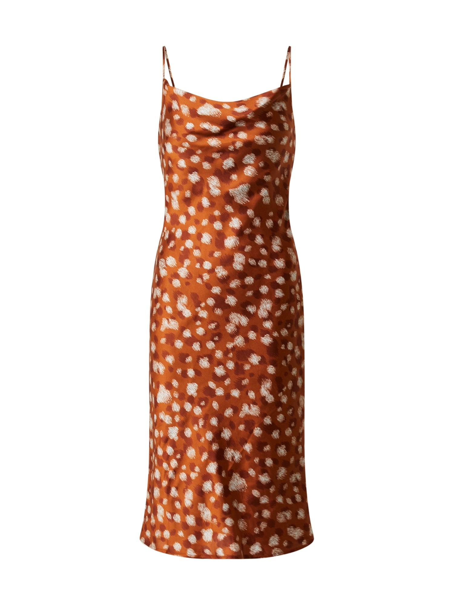 Bardot Vasarinė suknelė oranžinė / geltona