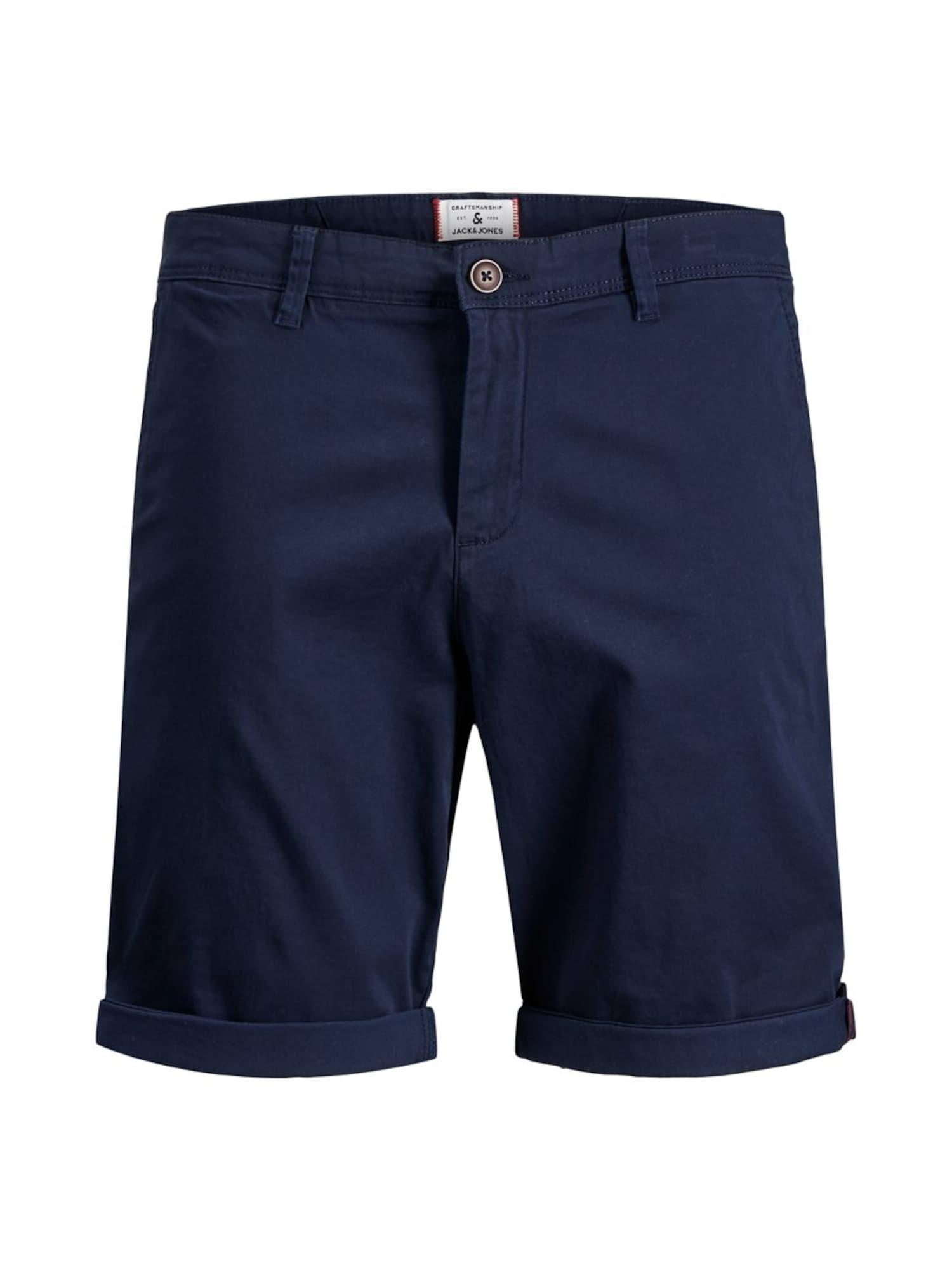 JACK & JONES Chino stiliaus kelnės mėlyna