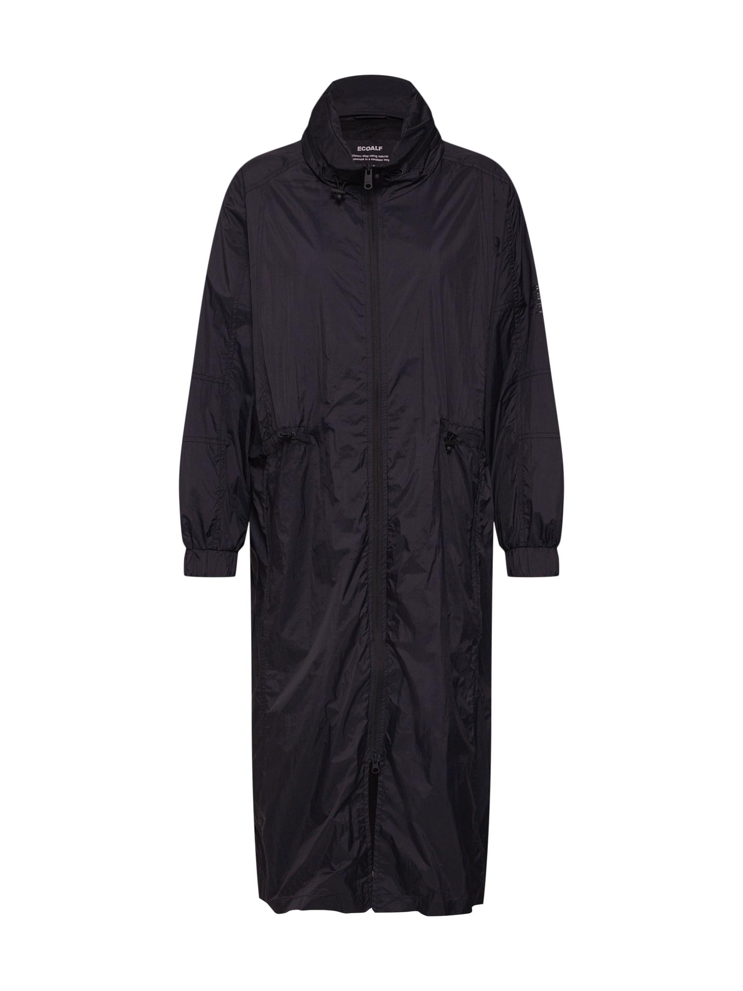 Přechodný kabát APOLONIA černá ECOALF