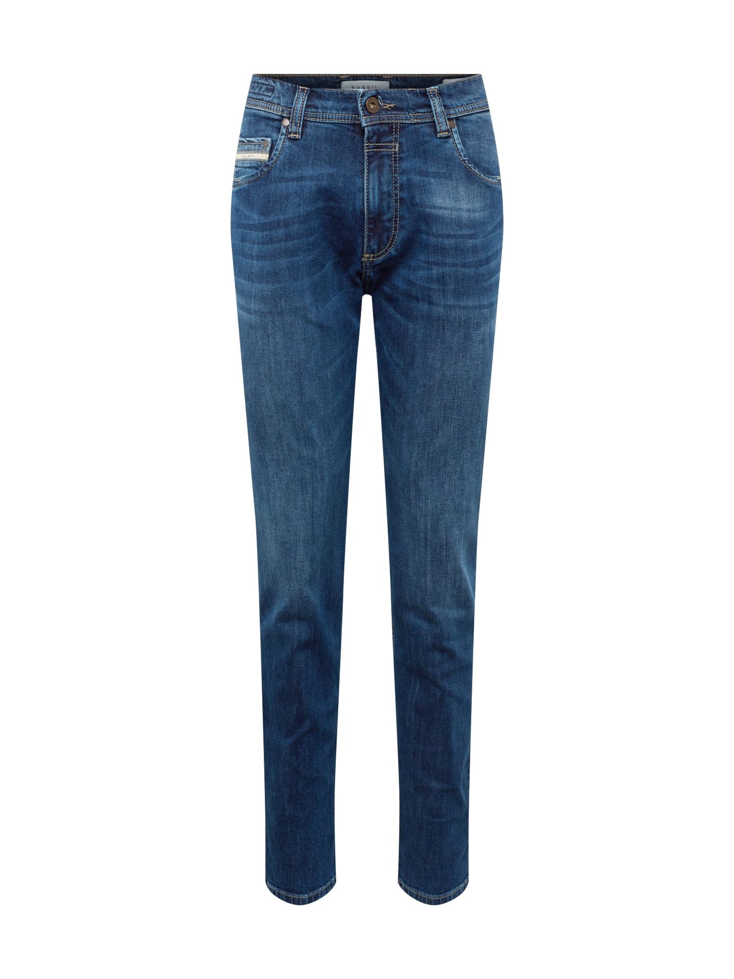 bugatti Džinsai tamsiai (džinso) mėlyna