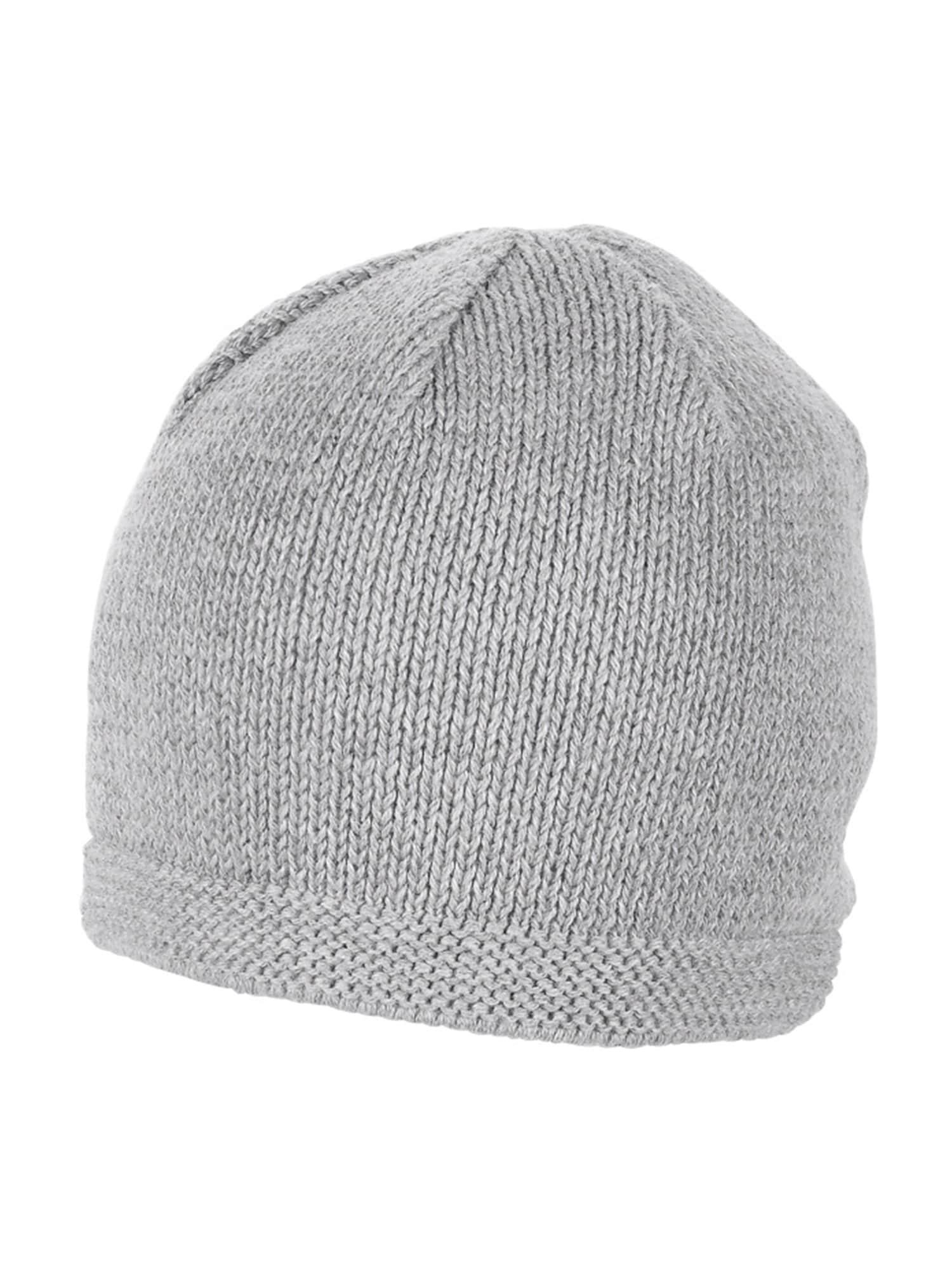STERNTALER Megzta kepurė pilka