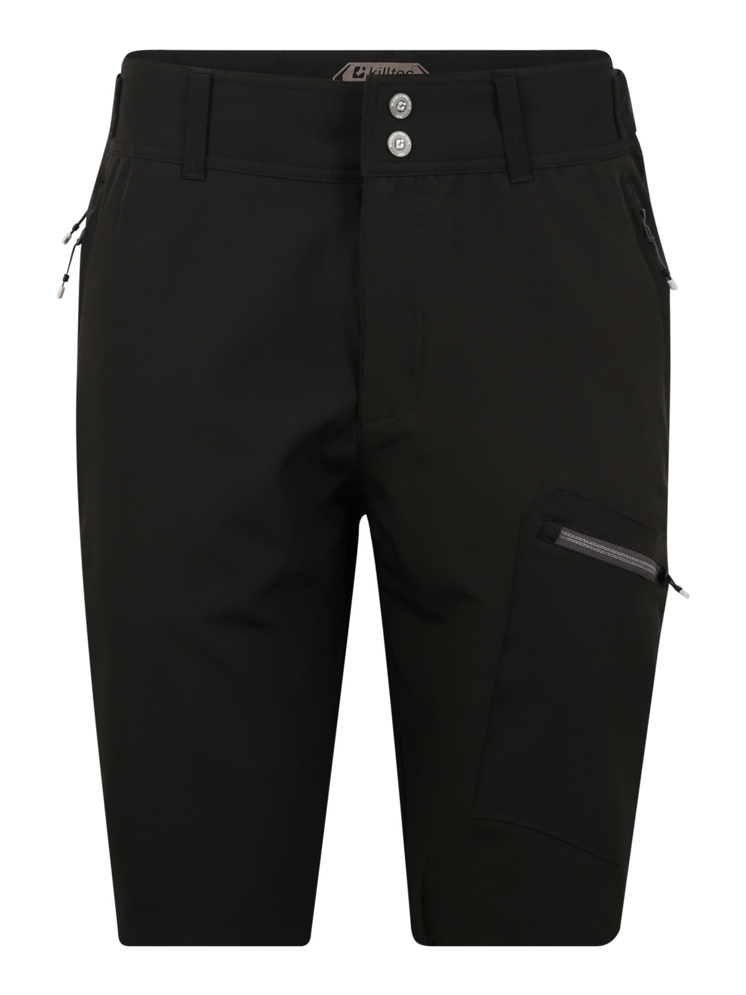 KILLTEC Laisvalaikio kelnės 'Tamon' juoda