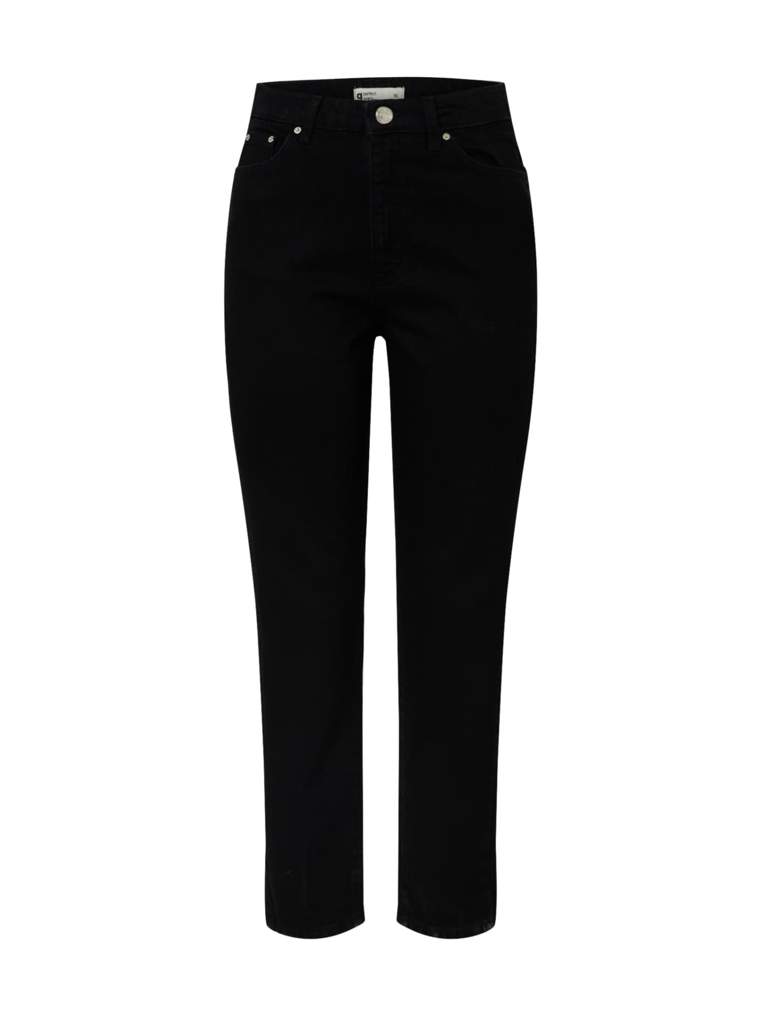 Gina Tricot Džinsai 'Dagny' juodo džinso spalva