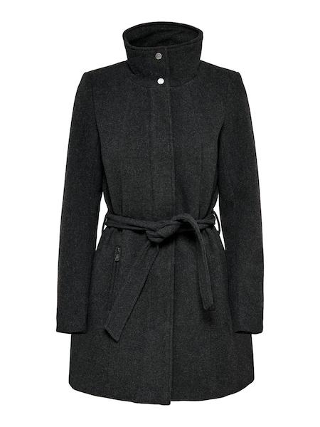 Jacken für Frauen - Mantel 'CHRISTIE RIANNA' › ONLY › basaltgrau  - Onlineshop ABOUT YOU