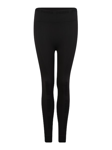 Hosen für Frauen - Sport Leggings 'evoKNIT Seamless' › Puma › schwarz  - Onlineshop ABOUT YOU