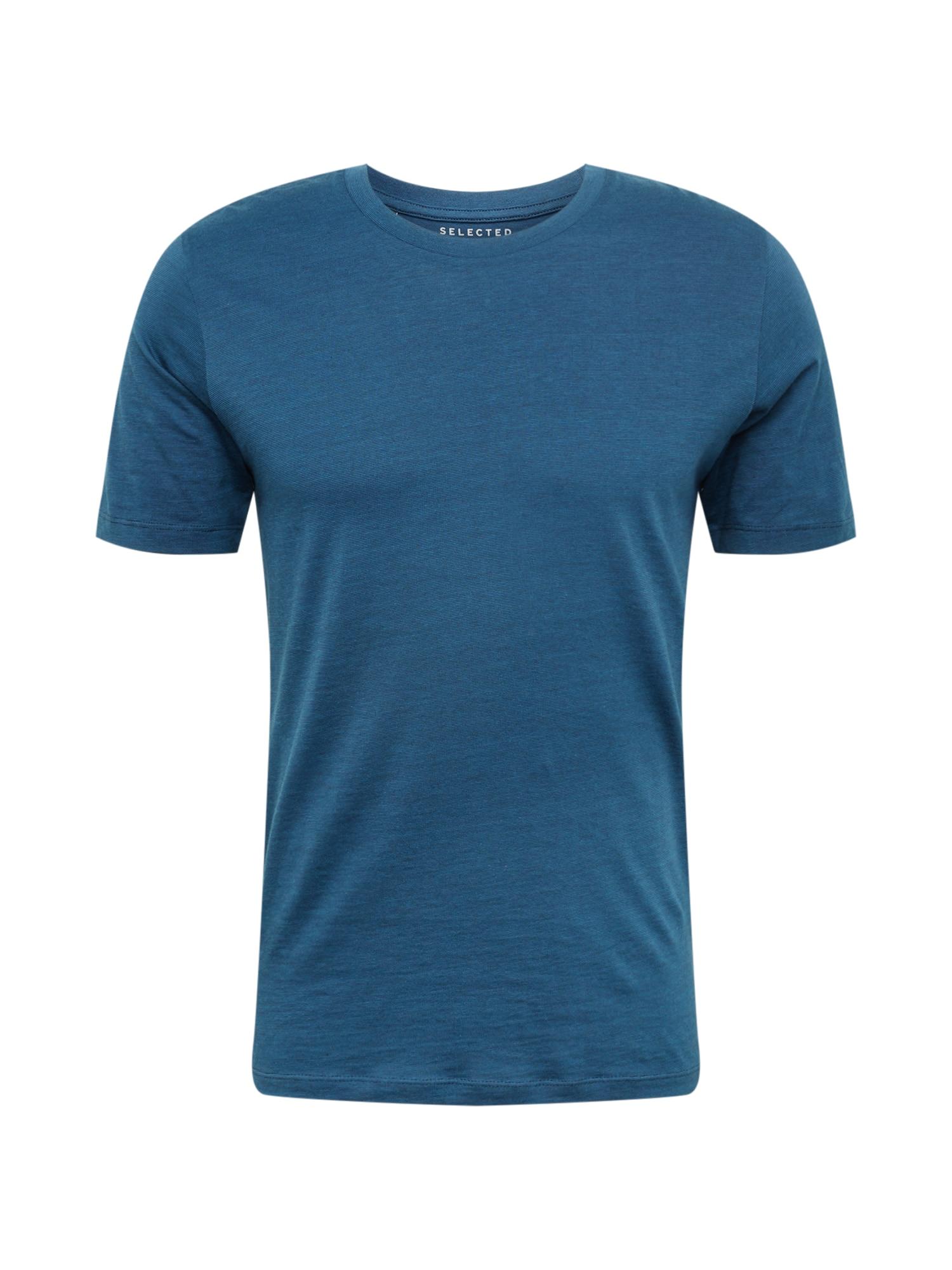Tričko THEPERFECT MEL nebeská modř SELECTED HOMME