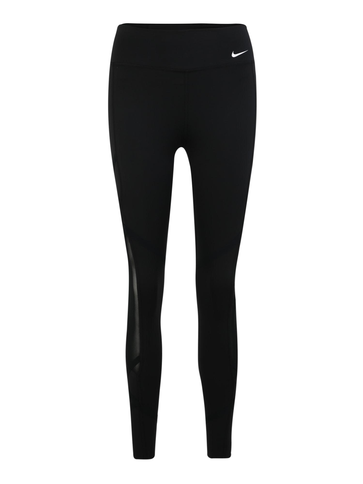 Sportovní kalhoty ONE REBEL černá NIKE