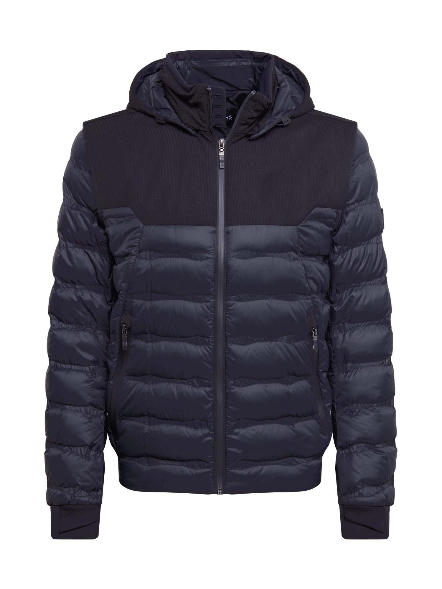 BOSS ATHLEISURE Žieminė striukė 'J_Skyn' juoda