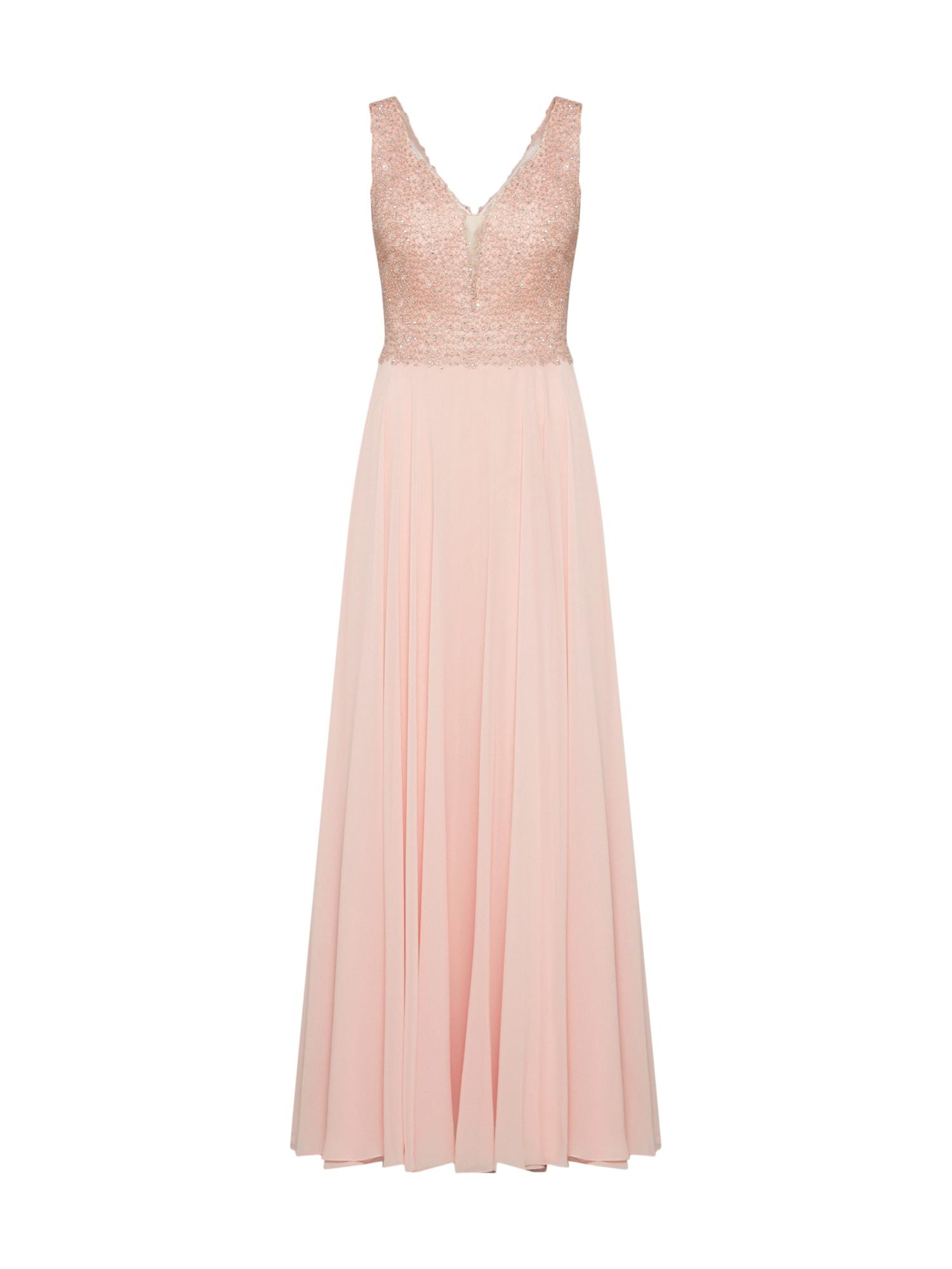 LUXUAR Vakarinė suknelė pudros spalva