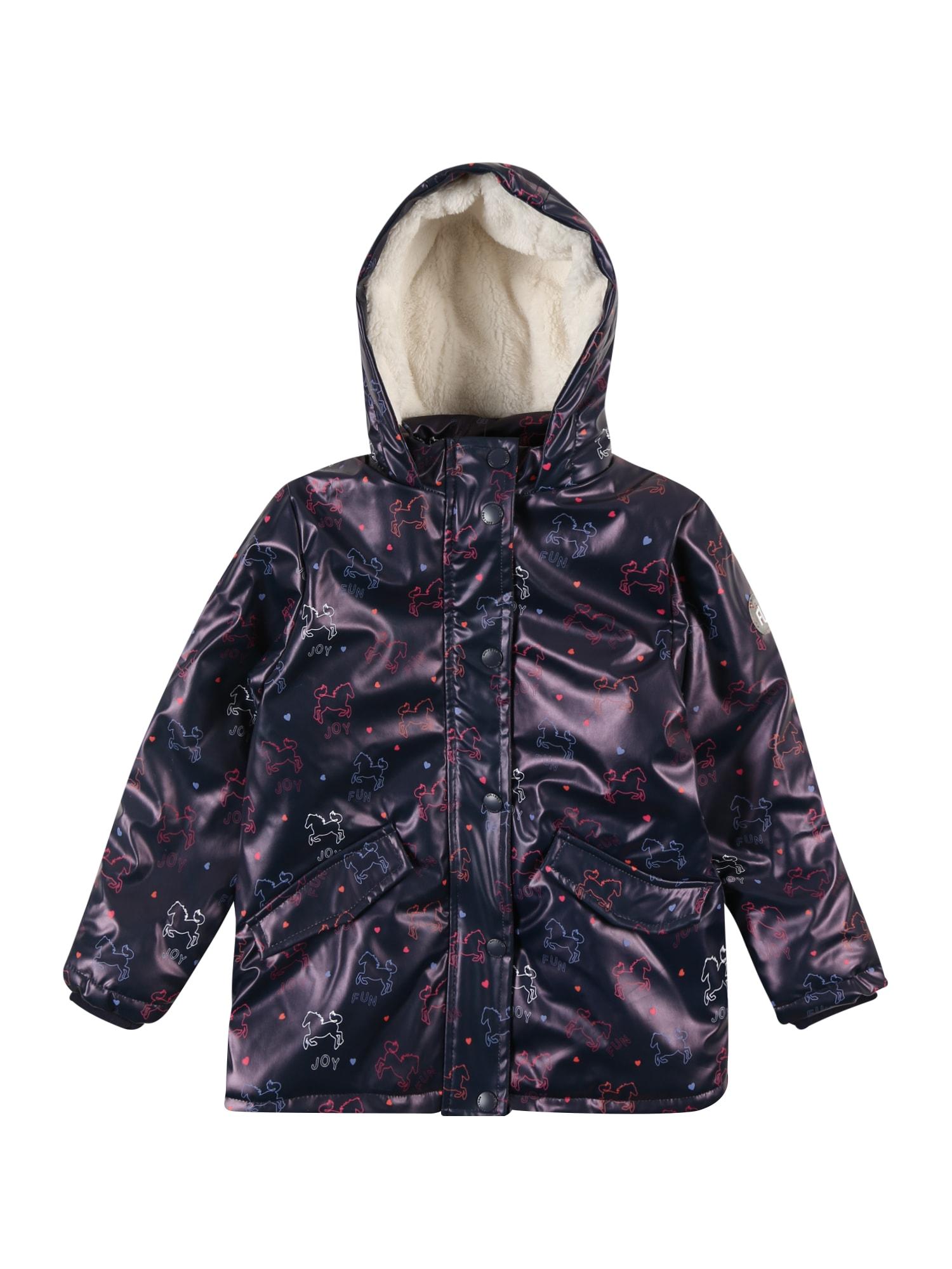 STACCATO Přechodná bunda  bílá / noční modrá / pink / oranžová / světlemodrá
