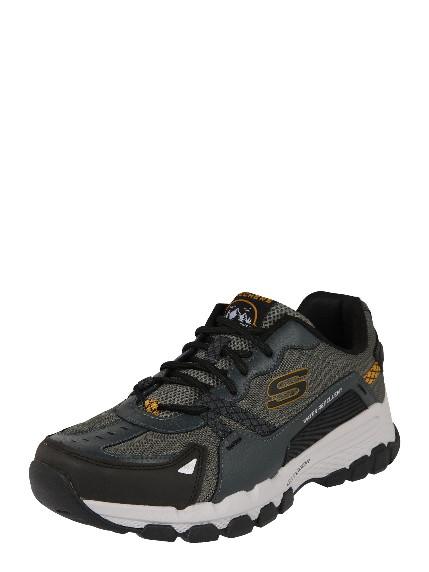 Skechers Performance Sportinio stiliaus batai su raišteliais 'OUTLAND 2.0 WYNNTER' tamsiai žalia