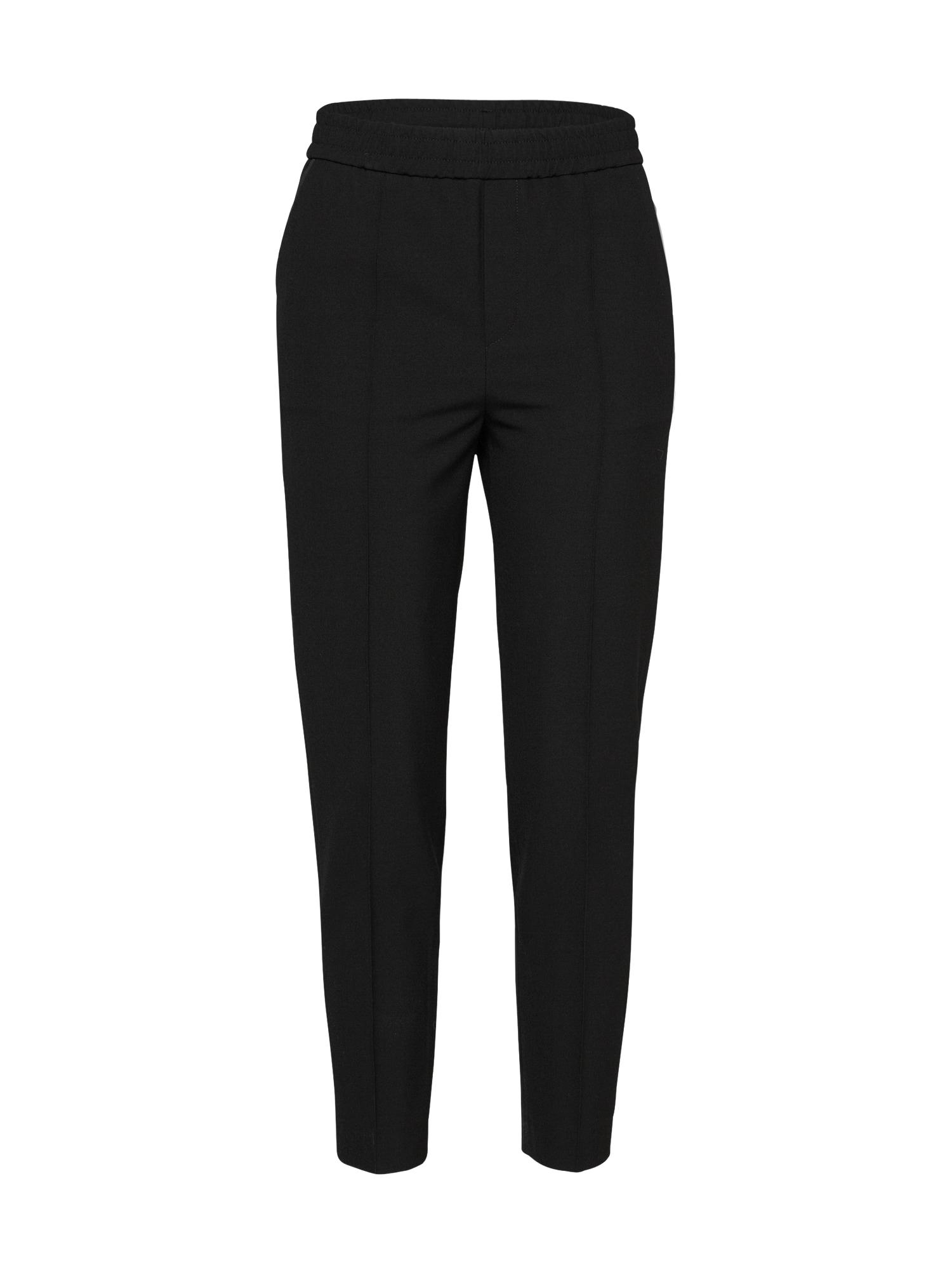 Kalhoty se sklady v pase Fiona Peg černá Filippa K